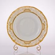 Набор глубоких тарелок 24 см. 6 шт. «Симфония Золотая»