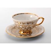 Набор для чая на 6 перс. 12пр. «Лист белый»