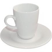 Пара кофейная D=125, H=85мм; белый