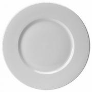 Тарелка с широк.краями «Монако Вайт», фарфор, D=32см, белый