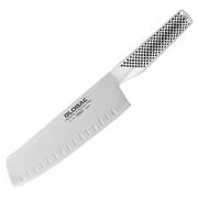 Нож для овощей рифленый «Глобал»; сталь нерж.; L=18см