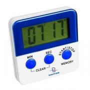 Таймер (время работы-99минут), пластик, L=6,B=5см, белый,синий
