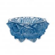 Ваза для конфет 16,5cм «Фрост Розы Голубой»