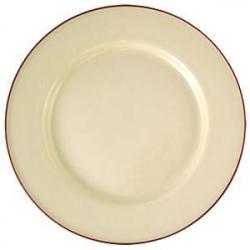 Тарелка «Кларет» d=25.5см фарфор