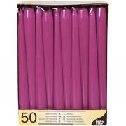 Свечи [50шт] D=2.2, H=25см; фиолет.