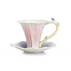Чашка с блюдцем «Утренняя заря»