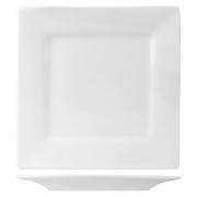 Тарелка квадратная «Кунстверк», фарфор, L=25.5,B=25.5см, белый