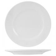 Тарелка мелкая «Кунстверк», фарфор, D=15,H=2см, белый