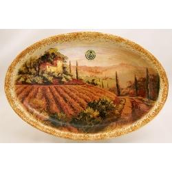 Овальное блюдо «Кьянти» 36 см