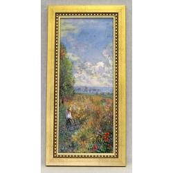 Картина «Маки» 22х44,5 см фарфор,серия Monet. Подарочная упаковка