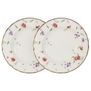 Набор из 2-х суповых тарелок Флёр