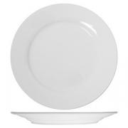 Тарелка мелкая «Кунстверк», фарфор, D=300,H=25мм, белый