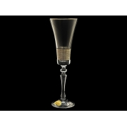 Бокал для шампанского ALEX Платиновый фриз