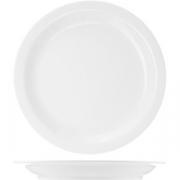 Тарелка мелкая «Америка» D=26.5, H=2.5см; белый