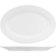 Блюдо овал. «Кунстверк» H=1.7, L=22.6, B=15.5см; белый