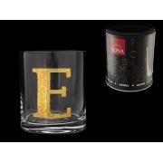 Стакан для виски (1 шт) Азбука Буква «E»