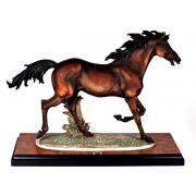 Скульптура «Бегущая лошадь» 52см