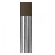 Мельница для соли/перца; сталь нерж.,бук; D=50,H=215мм; черный