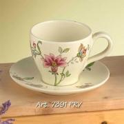 Чашка чайная с блюдцем 13см. «Прованс»