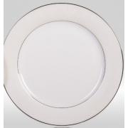 Набор закусочных тарелок «Серый шелк» на 6 персон
