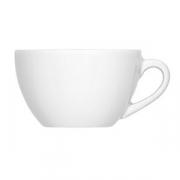 Чашка чайная «Бистро», фарфор, 180мл, белый