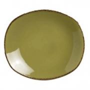 Тарелка овал «Террамеса олива» 30.5см