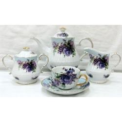 Чайный сервиз «Элиза» 15 предметов на 6 персон