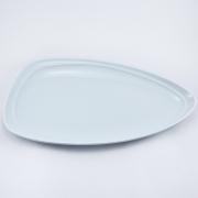 Тарелка 35*30см Муд «Белое»