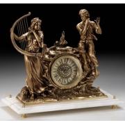 Часы «фемида» мини. цвет - каштан 24х17см