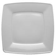 Тарелка квадр «Виктория» 21см фарфор