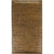 Папка-карта вин «Крокодил» L=33, B=19см; бронз.