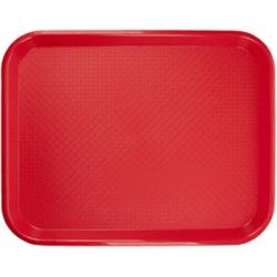 Поднос для Фаст Фуд 45.7*35.6см, красный