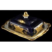 Масленка 250 гр. «Кленовый лист синий»