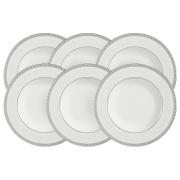 Набор из 6 суповых тарелок Луна