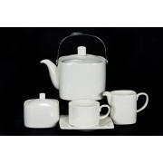Сервиз чайный 17 пр. на 6 персон «White Square»
