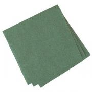 Салфетки «Папирус» 24*24см [400шт], бум. салфет., H=16,L=25,B=12.5см, зелен.
