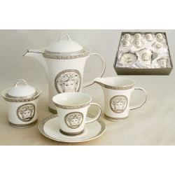 Чайный сервиз на 6 персон «Versace - platinum»