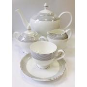 Сервиз чайный «Сфера» 17 предметов на 6 персон