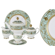Чайный сервиз 42 предмета на 12 персон Шантильи