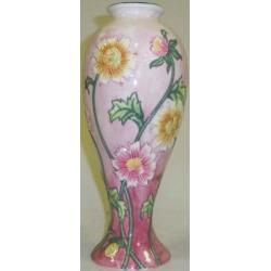 Ваза для цветов (розовая), 27 см