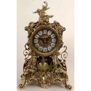 Часы «Вавилон» с маятником золотистый 34х21 см.