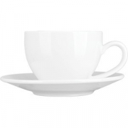 Пара чайная «Кунстверк» фарфор; 200мл; белый