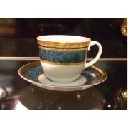 Набор 6 чайных пар «Баронес«зеленый