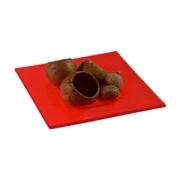 Салатник для компл.квадр.12*12см красный