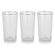 6 стаканов для воды «Пиза серебро»