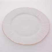 Блюдо круглое 30 см «Бернадот белый 311011»