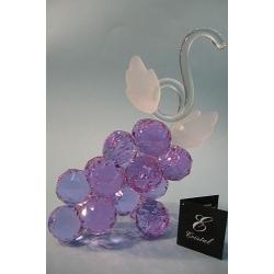 Гроздь винограда лилово-голубой, d 40 18х23 см