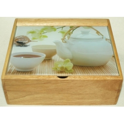Коробка для чайных пакетиков 19х22/5х8,5 см