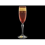Бокал для шампанского Люция, Рубин с виноградом