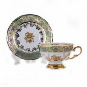 Набор для чая на 6 перс. 12 пред. «Роза Зеленая»